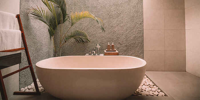 white ceramic bath tub bathroom renovation ideas
