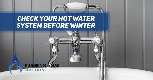 bath hot water system